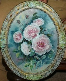 Pink Rose Painting